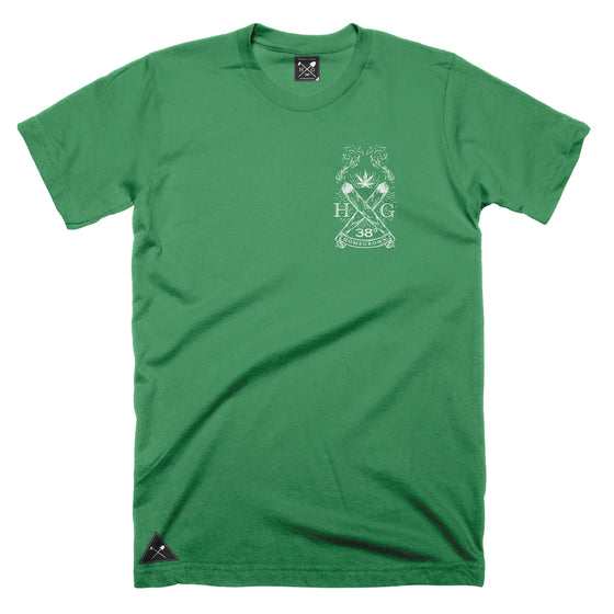 Two Joints logo T-shirt - Kelly Green