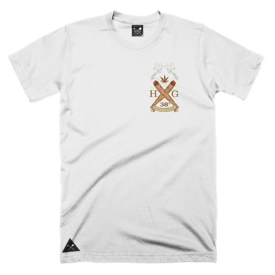 Two Joints logo T-shirt - White
