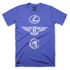 LBC Lux Sinful x HomeGrown Collab T-Shirt - Royal Blue