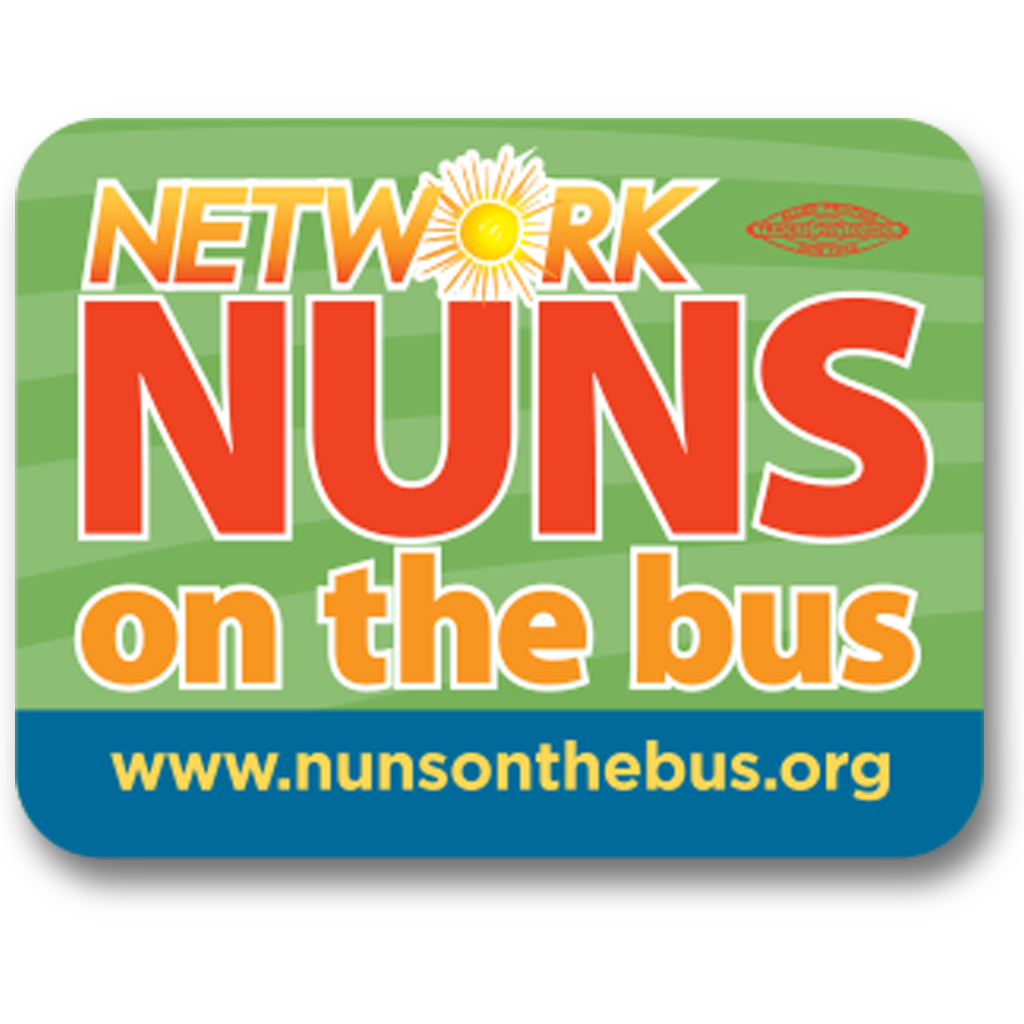 Nuns on the Bus Laptop Sticker