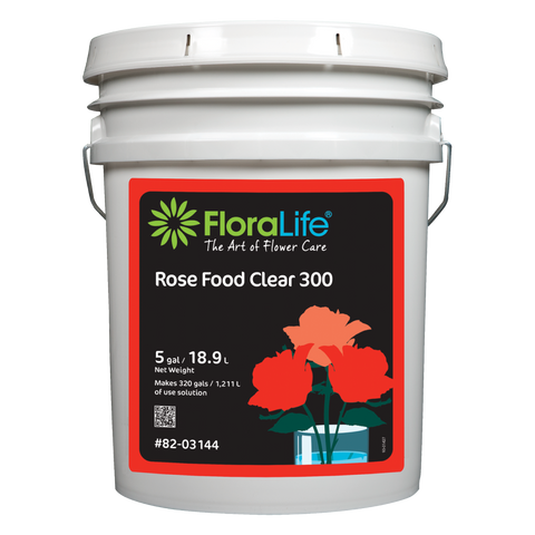 FloraLife® Rose Food Clear 300