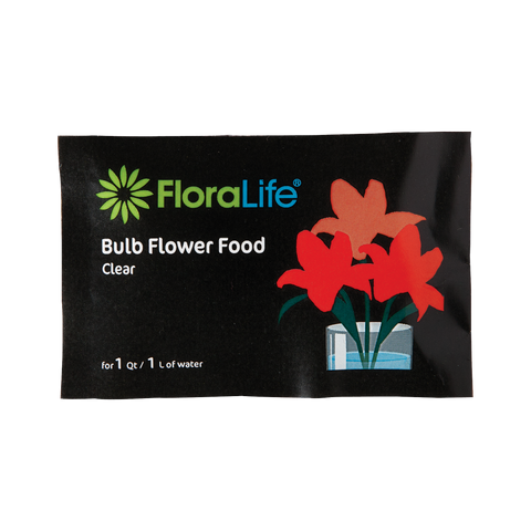 FloraLife® Bulb Food Clear 300 Packets