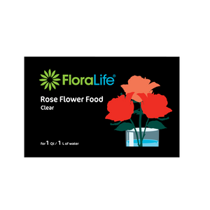FloraLife® Rose Food Clear 300 Packets