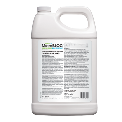 FloraLife® MicroBLOC® Greenhouse Disinfectant