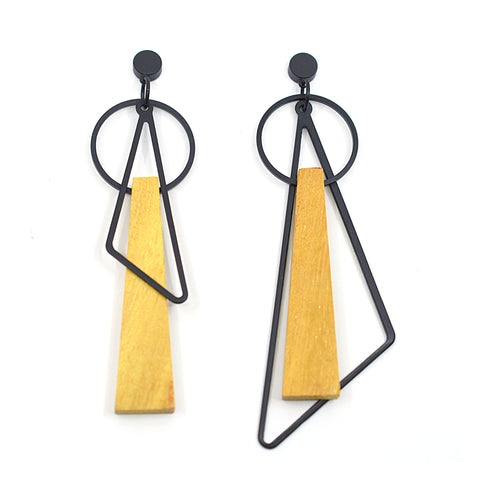 Urban Style - geometric earrings