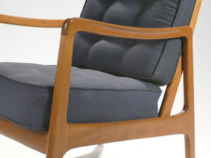 Scandinavian pair of Ole Wanscher FD109 armchairs 1960s