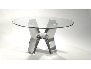 Dining table by François Monnet circa 1970