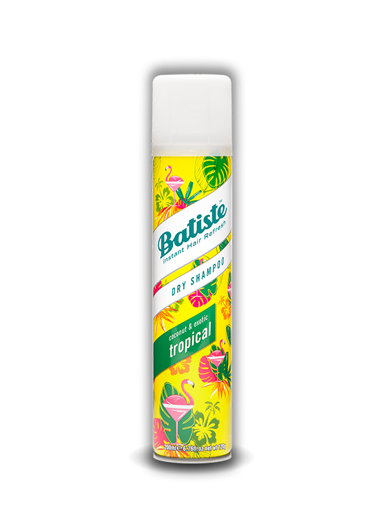 Champú en Seco Batiste Tropical 200ml