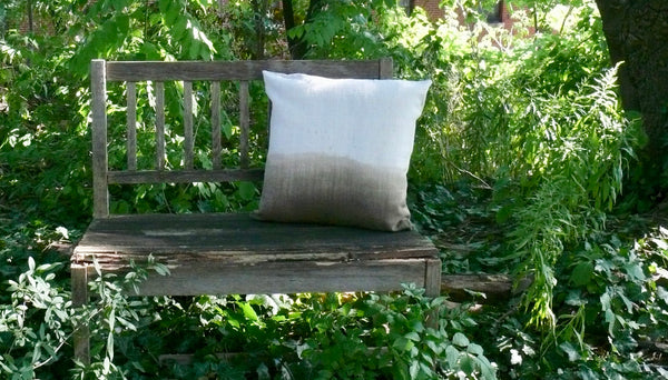 Taupe Ombre Cushion Cover