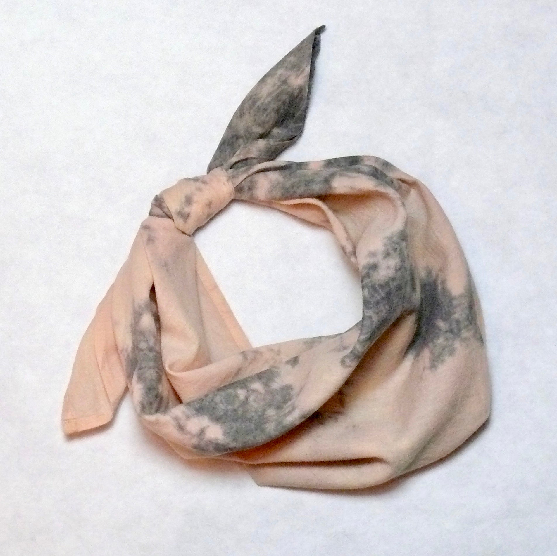 Shell and Dusty Purple Bandana