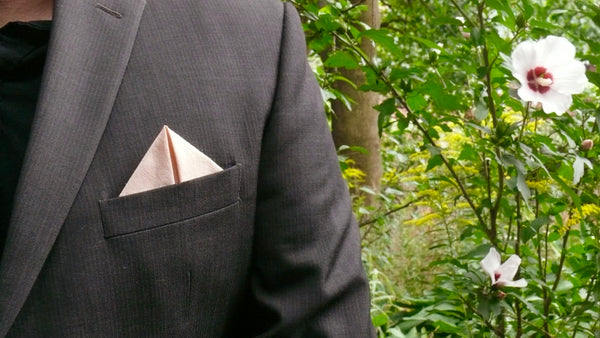 Blush Pocket Square