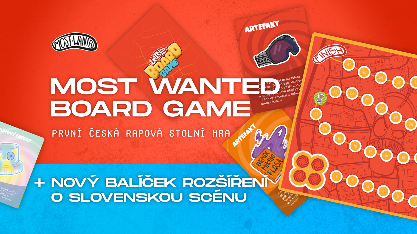 Most Wanted Merch by Jan Strach