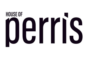 House of Perris logo is minimal, elegant and strong logo which epitomises the brand essence.