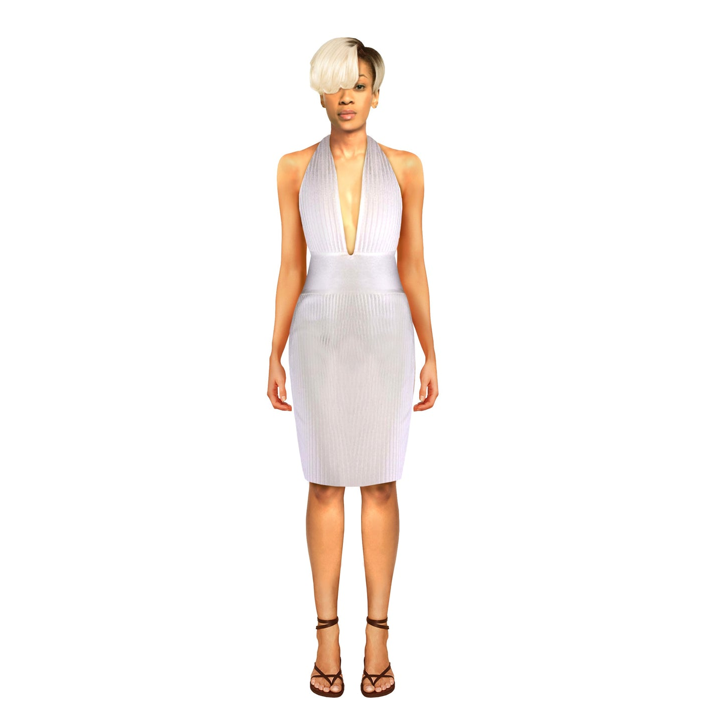 Honey Dress by House of Perris is demure Merilyn inspired little dress.