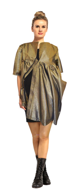 Iris coat by House of Perris is a chic avant garde  coat.