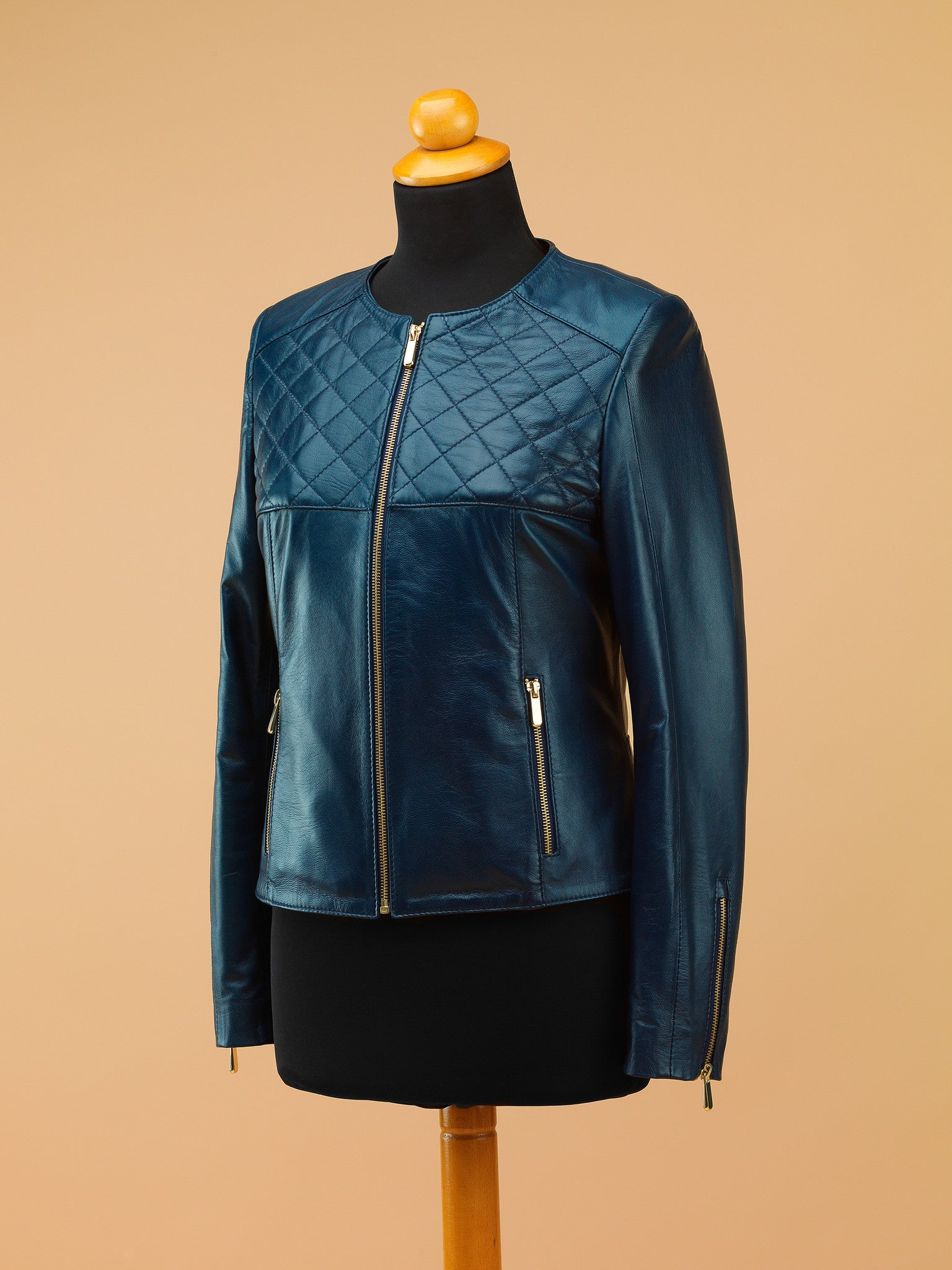 Women Leather Jacket - WT6279