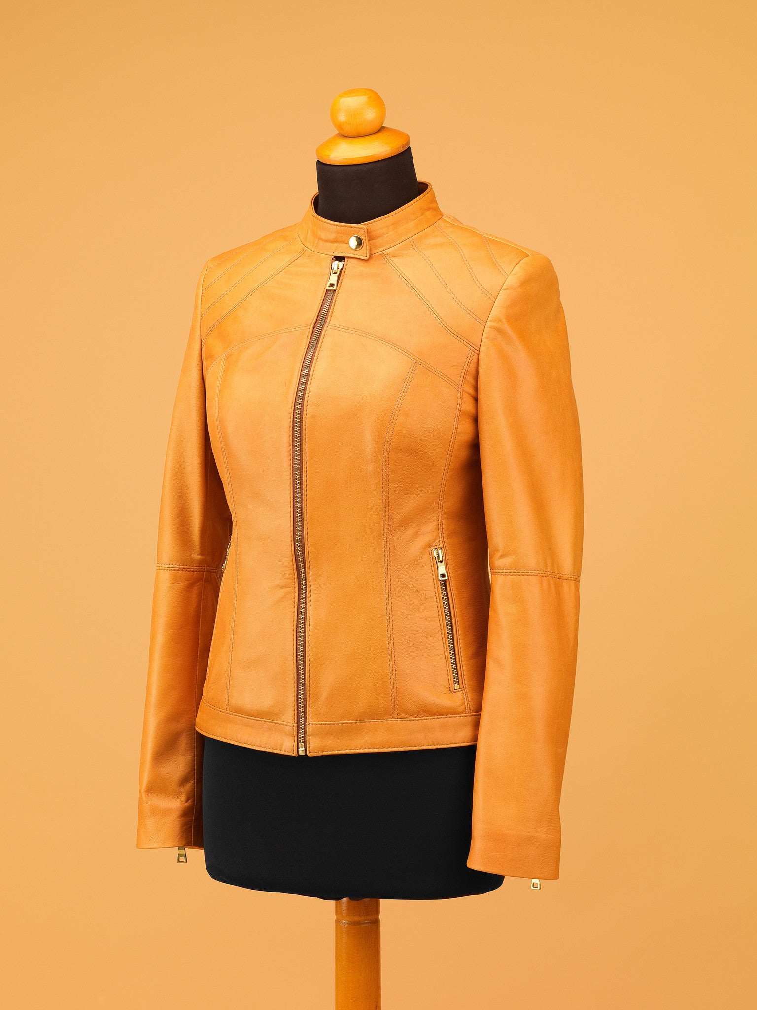 Women Leather Jacket - WT4327