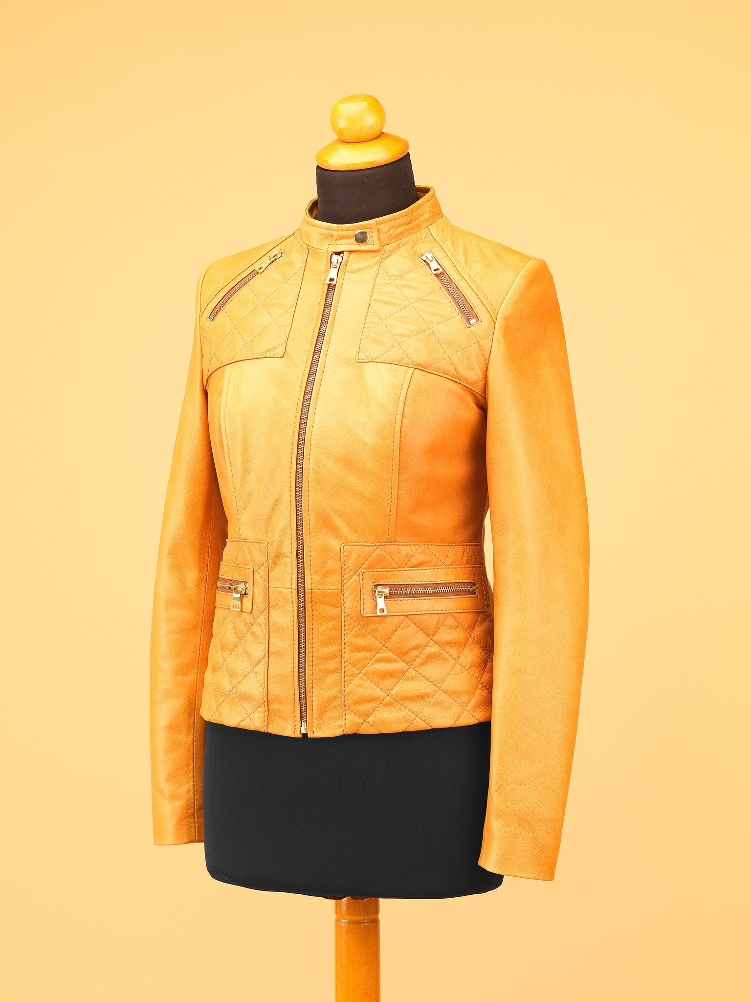 Women Leather Jacket - WT2541
