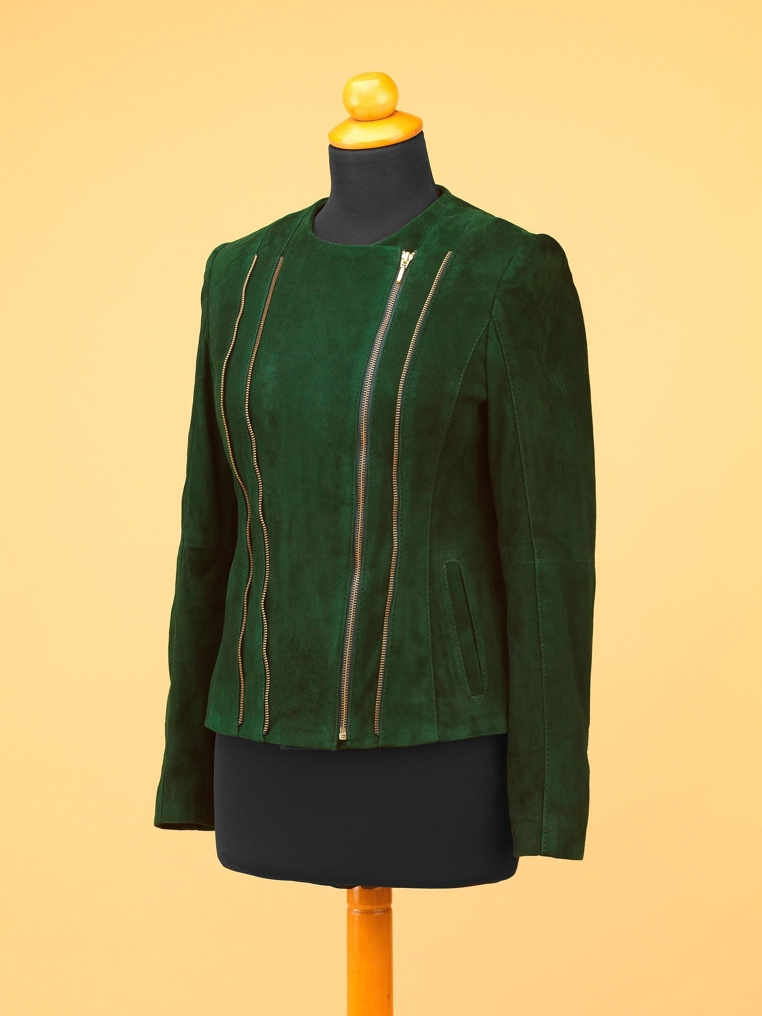 Women Leather Jacket - WT8726