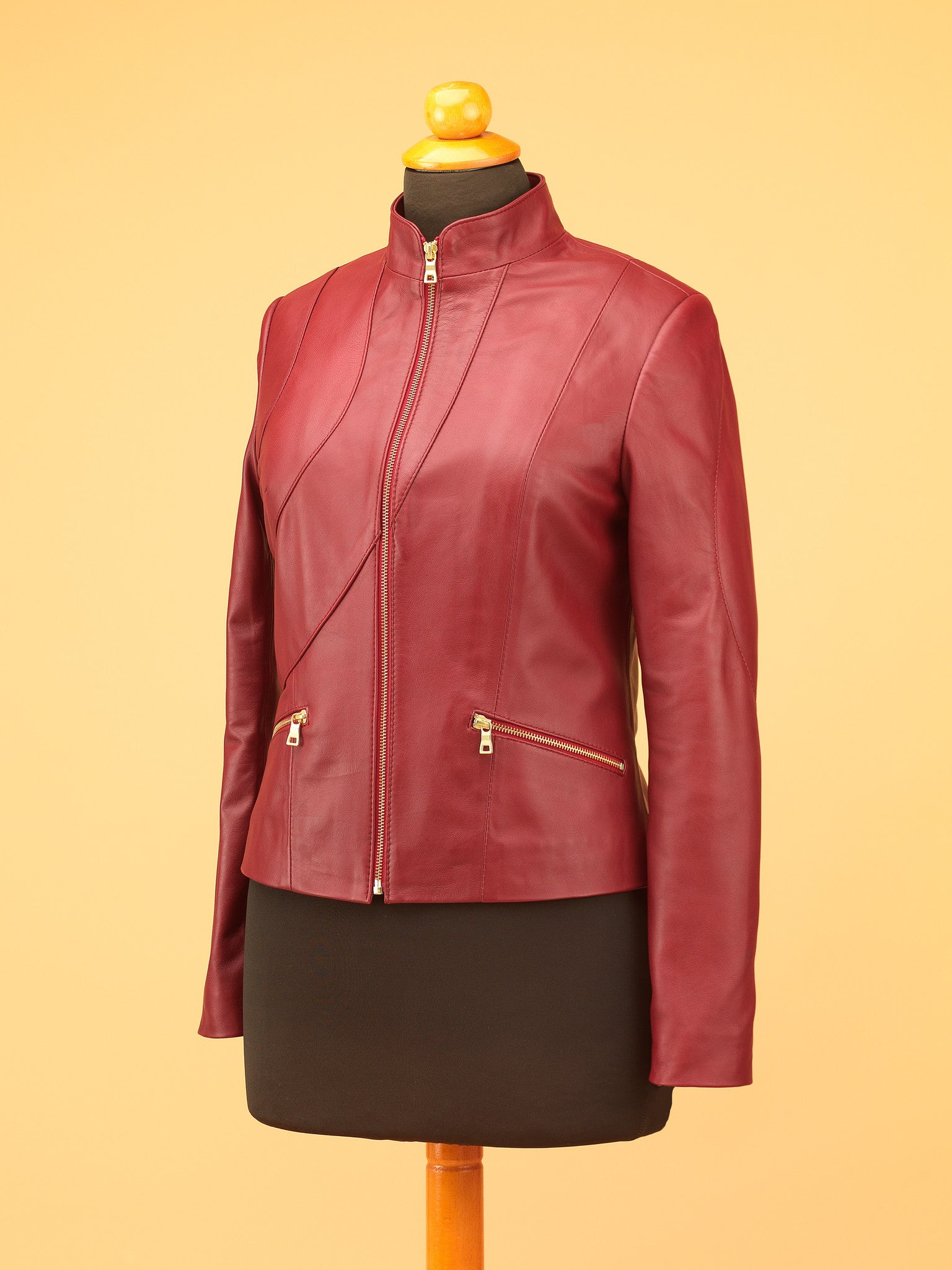 Women Leather Jacket - WT2238