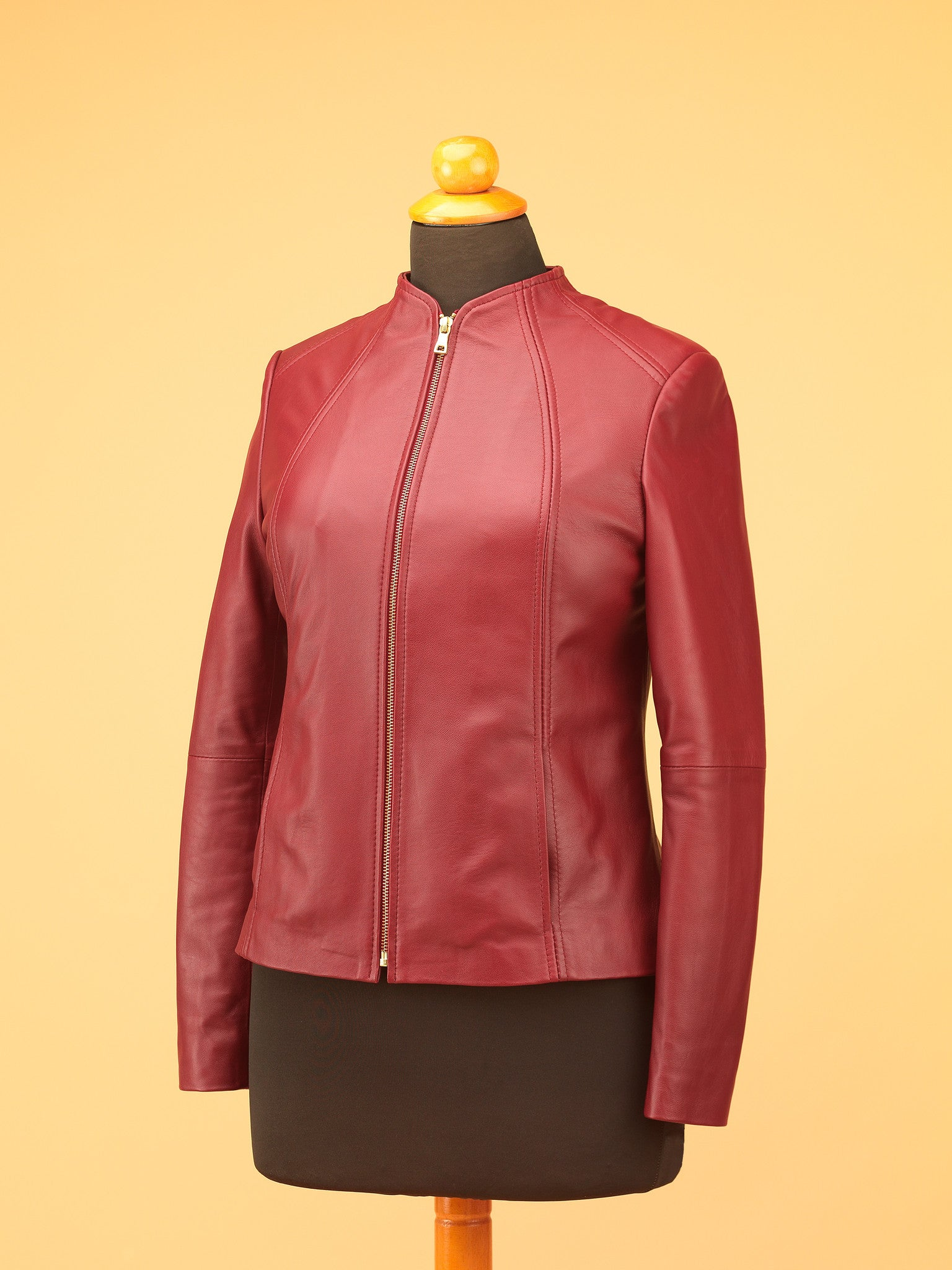 Women Leather Jacket - WT3298