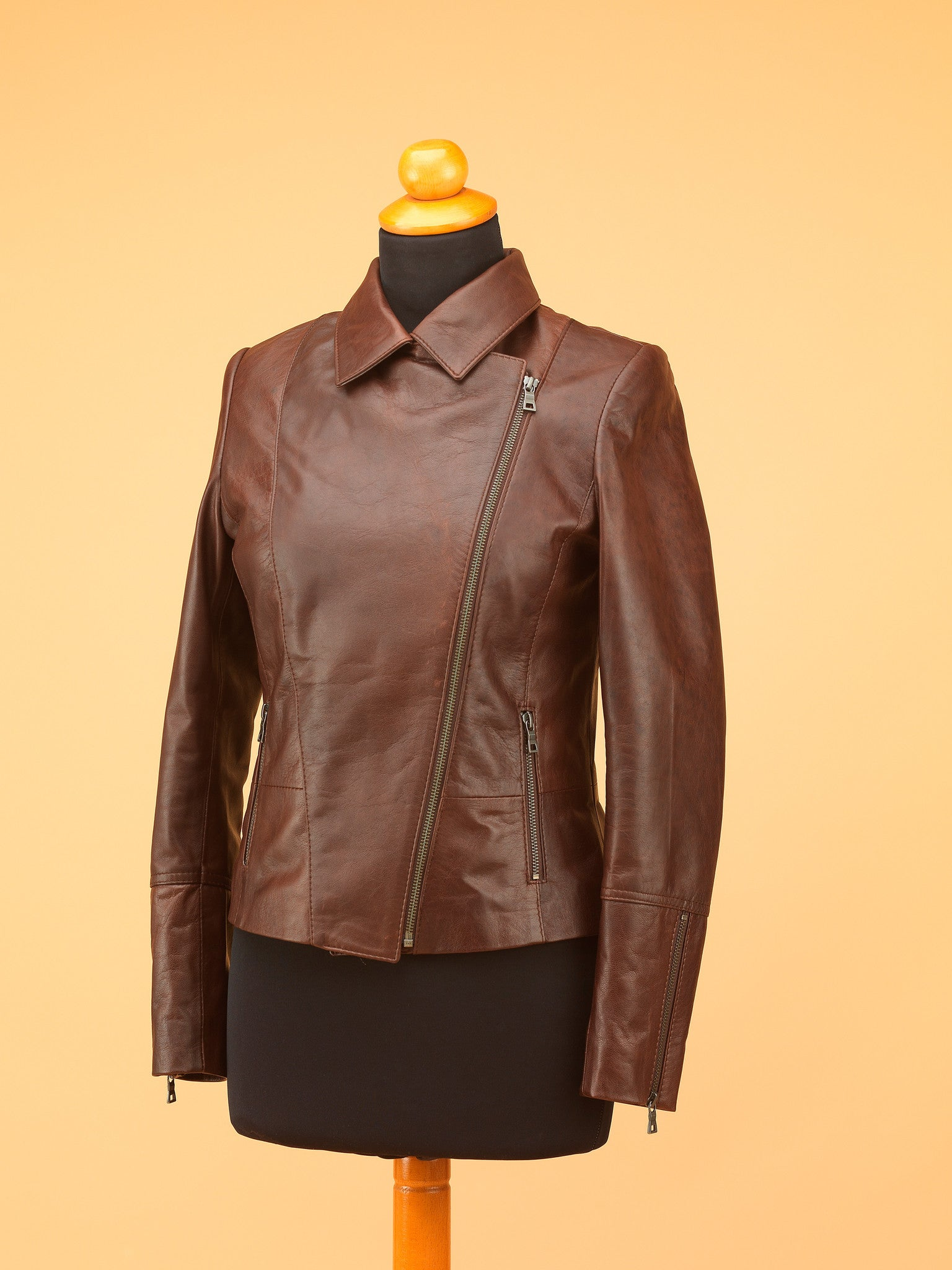 Women Leather Jacket - WT7245