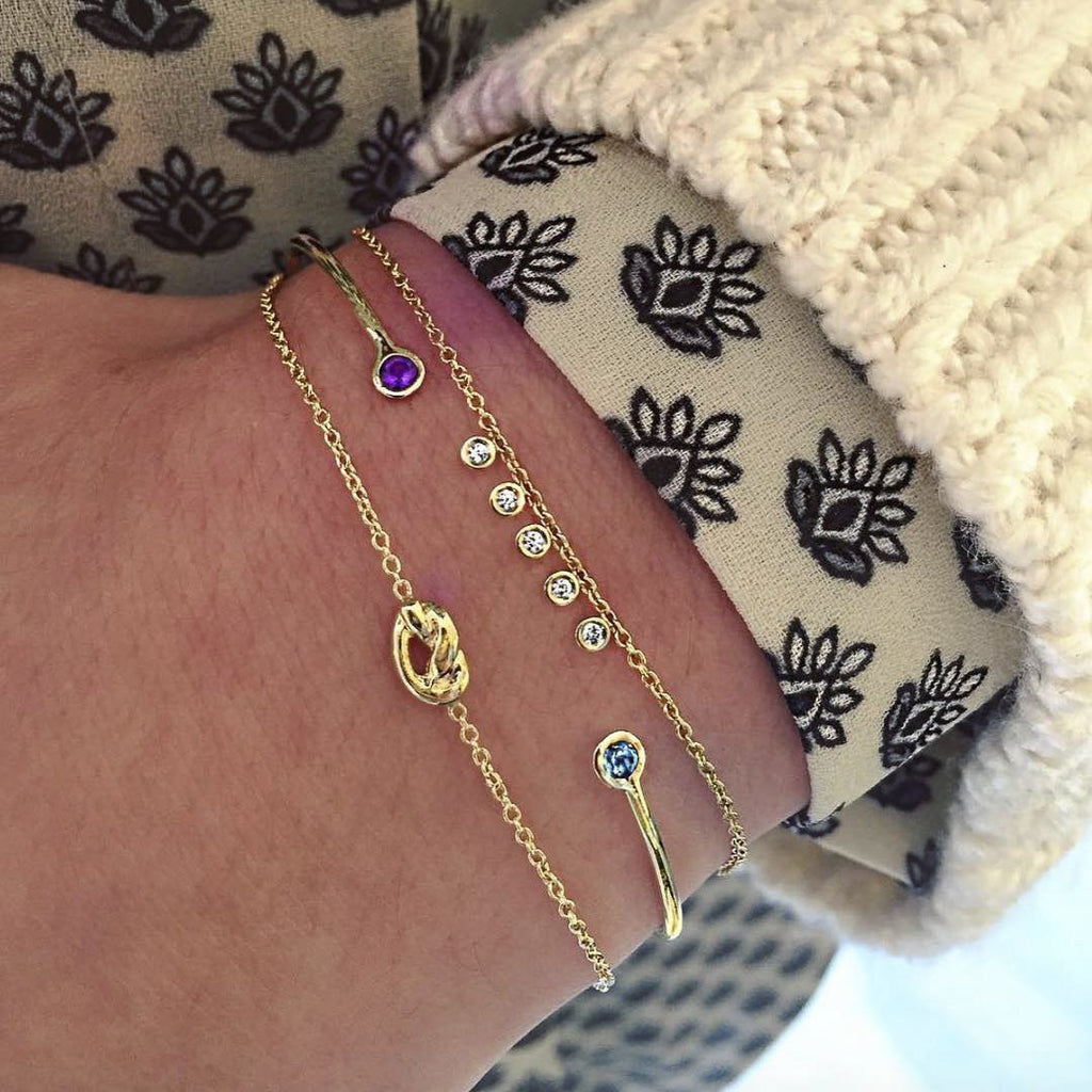 Mini Diamond Dash Bracelet