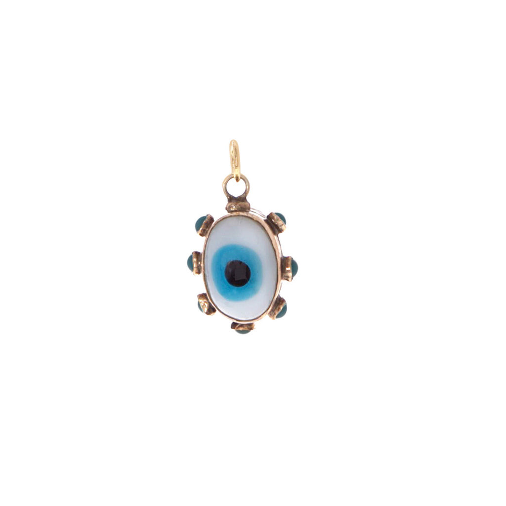 1900s Evil Eye Charm -- Ariel Gordon Jewelry