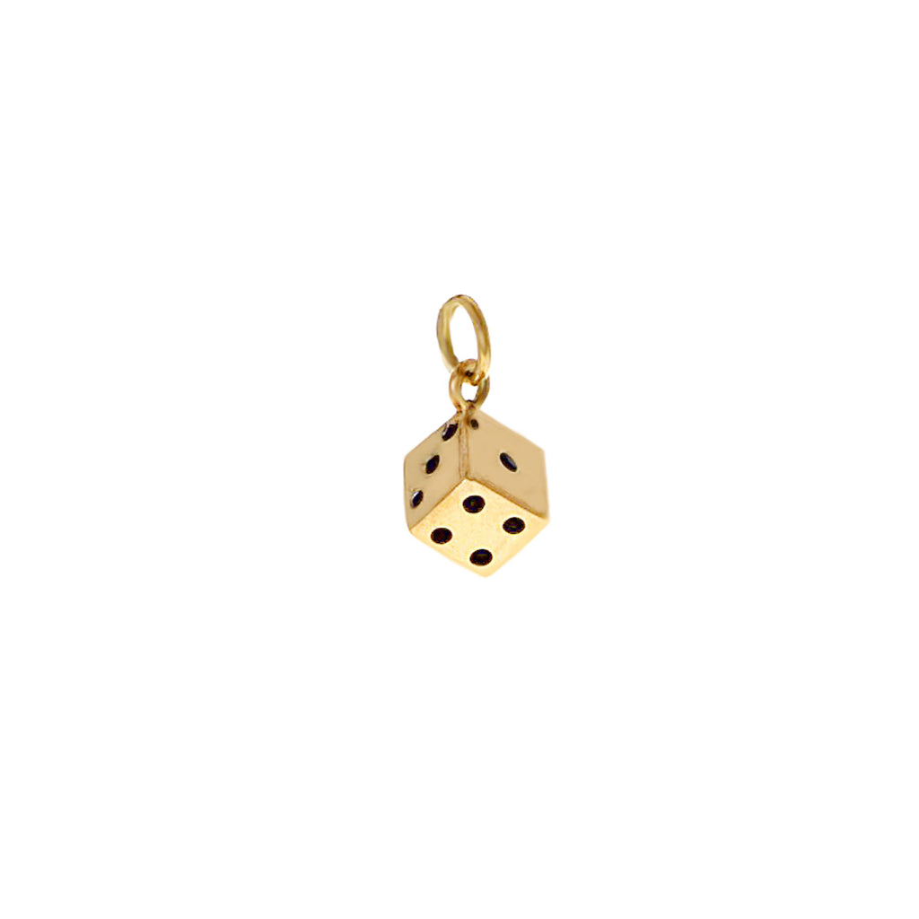 Gold and Enamel Dice