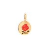 Enamel Rose Pendant -- Ariel Gordon Jewelry