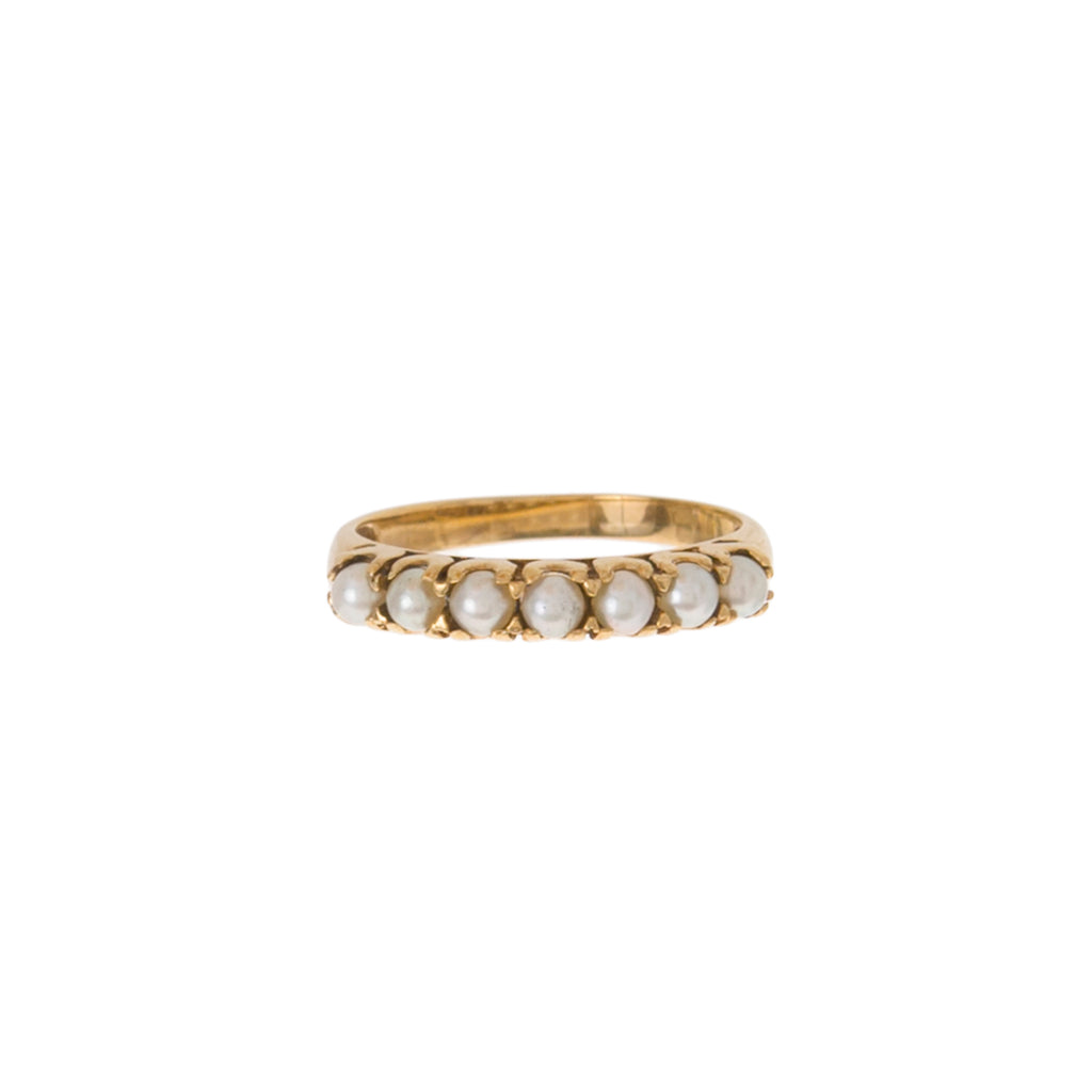 Pearl Stacking Ring -- Ariel Gordon Jewelry