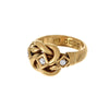 Diamond Lovers Knot Ring