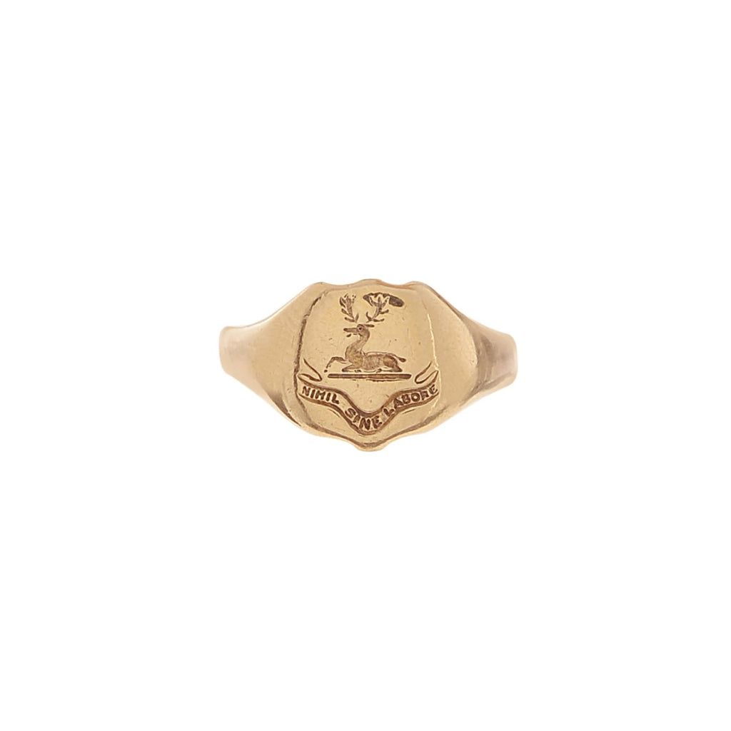 Stag Signet Ring