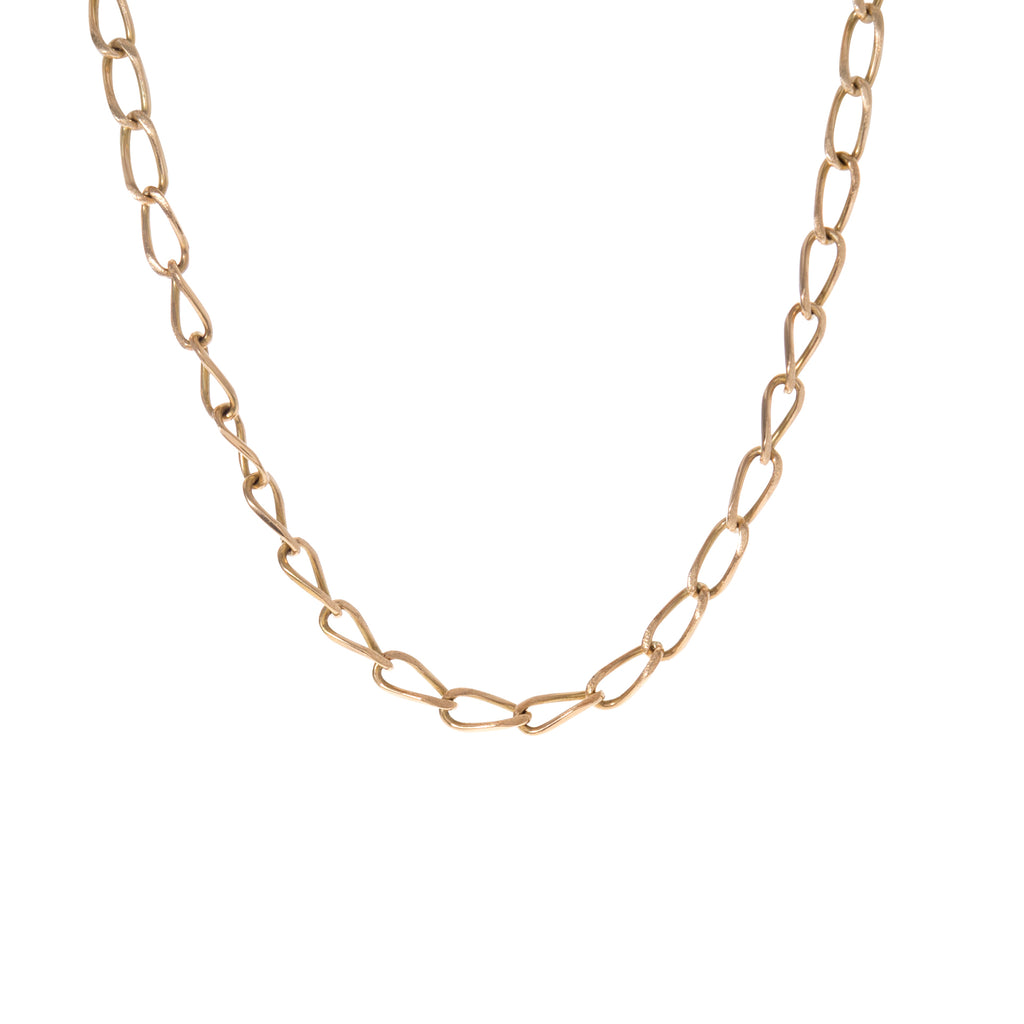 Twisted Oval Link Chain -- Ariel Gordon Jewelry