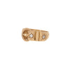 Diamond Buckle Victorian Ring -- Ariel Gordon Jewelry