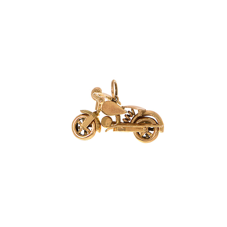 Movable Motorcycle Charm