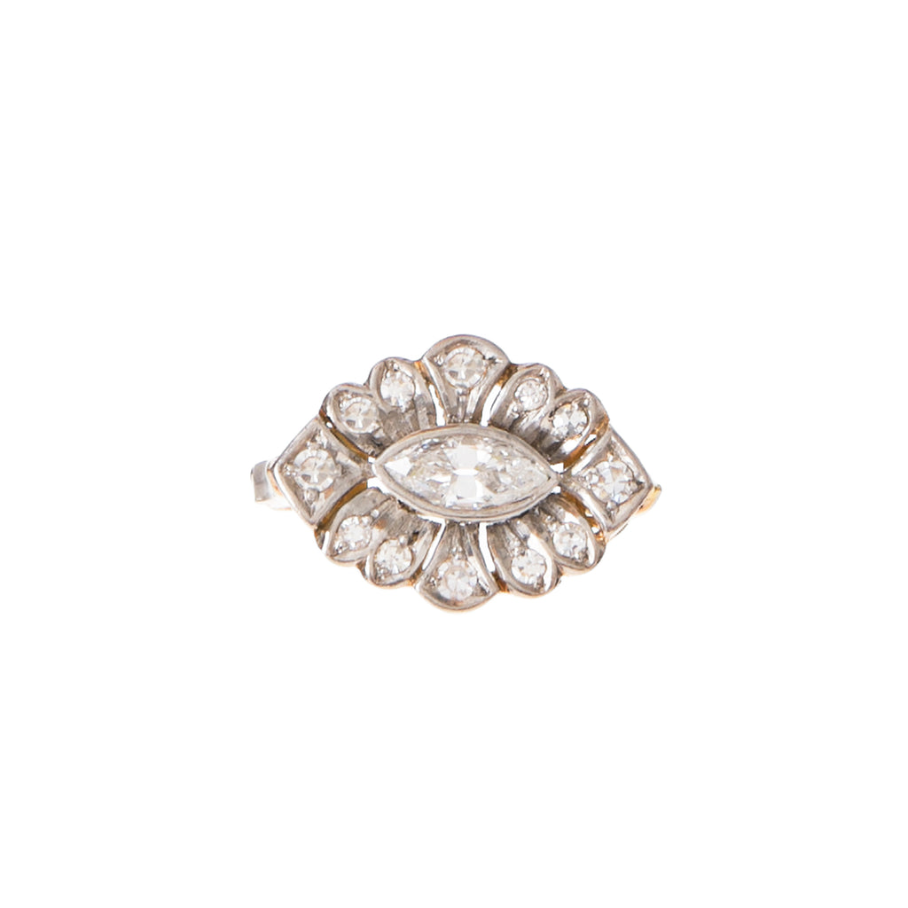 East West Marquise Diamond Ring -- Ariel Gordon Jewelry