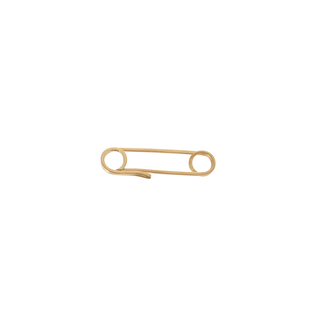 18k Safety Pin -- Ariel Gordon Jewelry