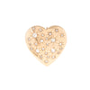 Mine Cut Diamond Heart Pendant Brooch -- Ariel Gordon Jewelry