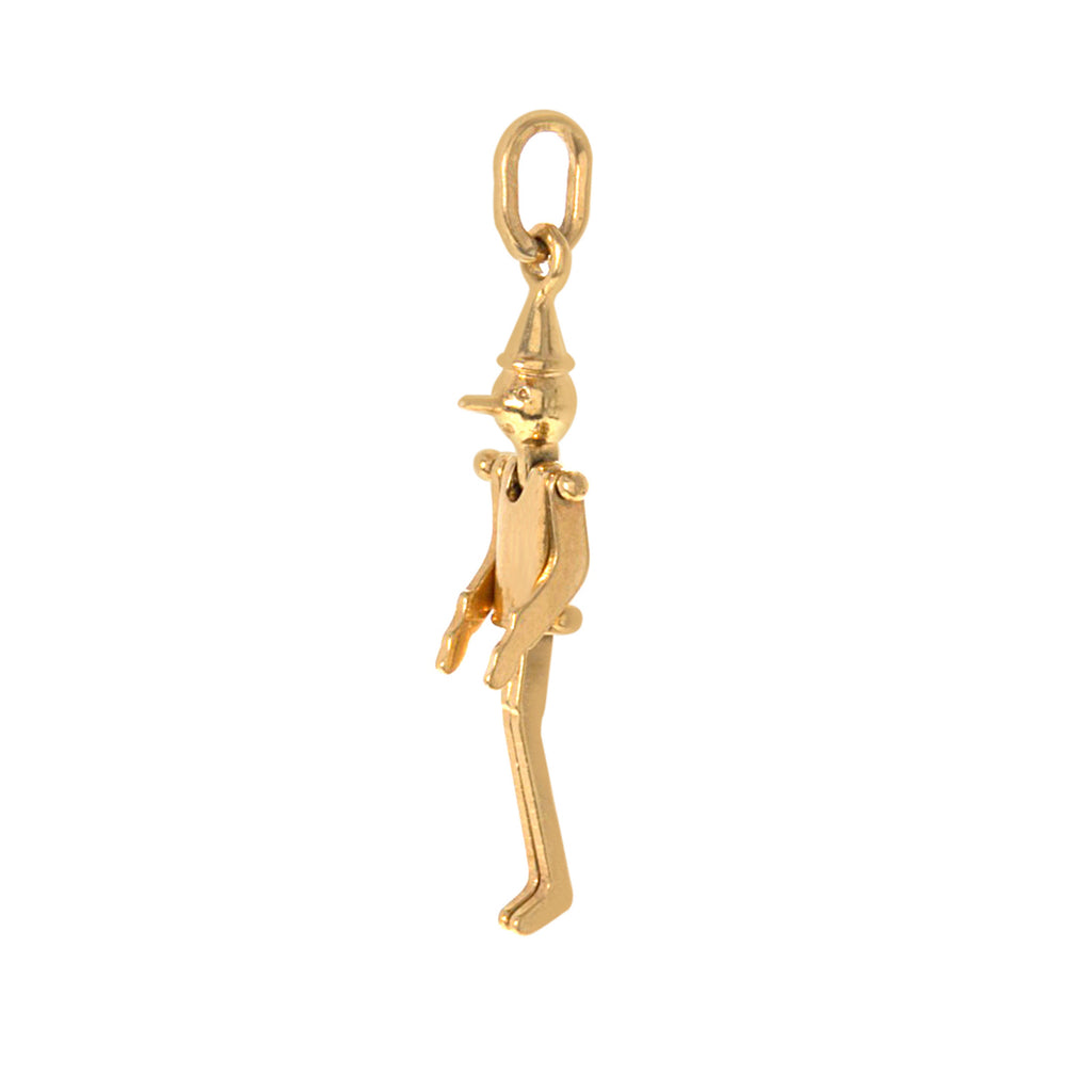 Movable Tin Man Charm -- Ariel Gordon Jewelry