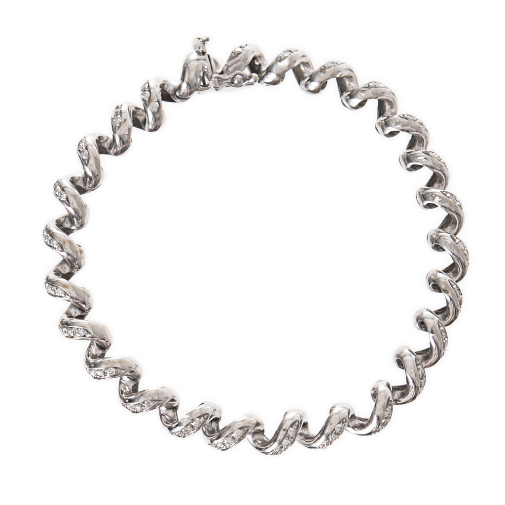 Pave San Marco Articulated Bracelet