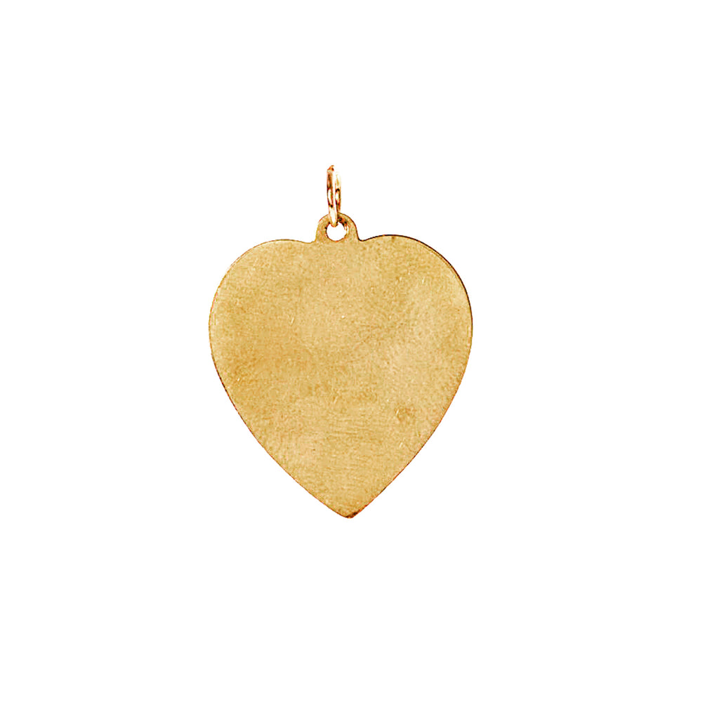 Engraved Heart Charm