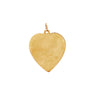 Engraved Heart Charm -- Ariel Gordon Jewelry