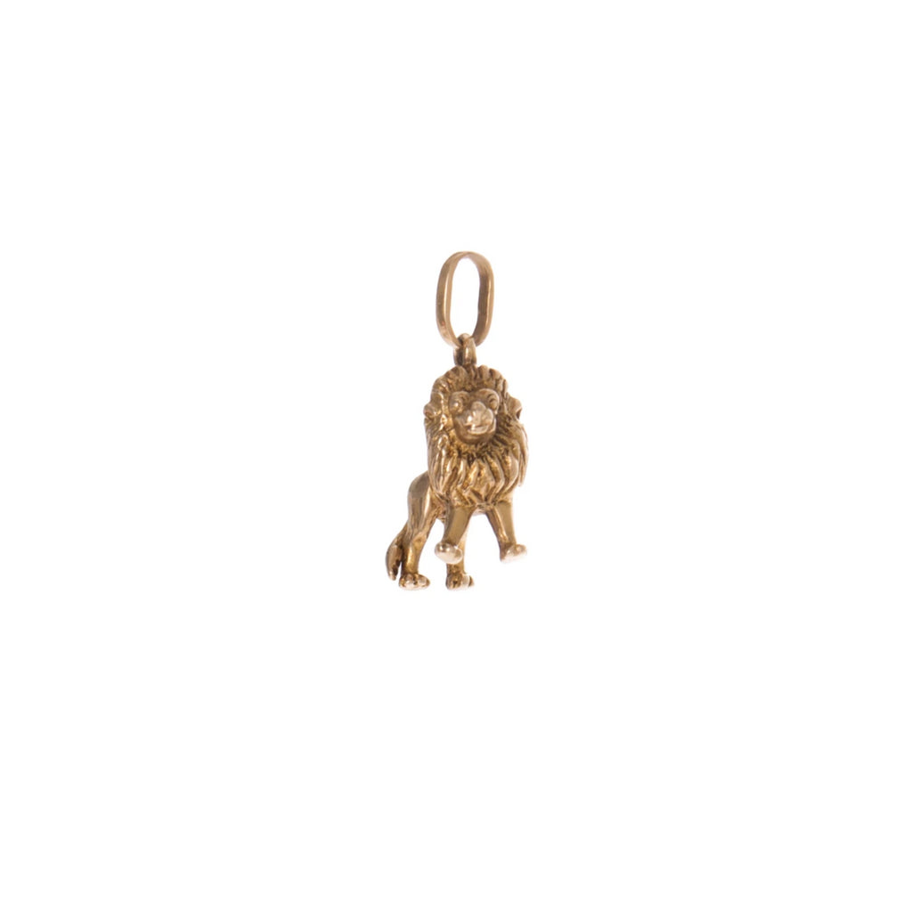 Royal Lion Charm -- Ariel Gordon Jewelry