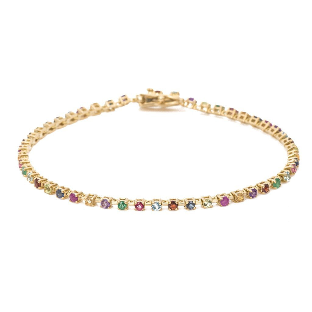 Candy Crush Tennis Bracelet -- Ariel Gordon Jewelry