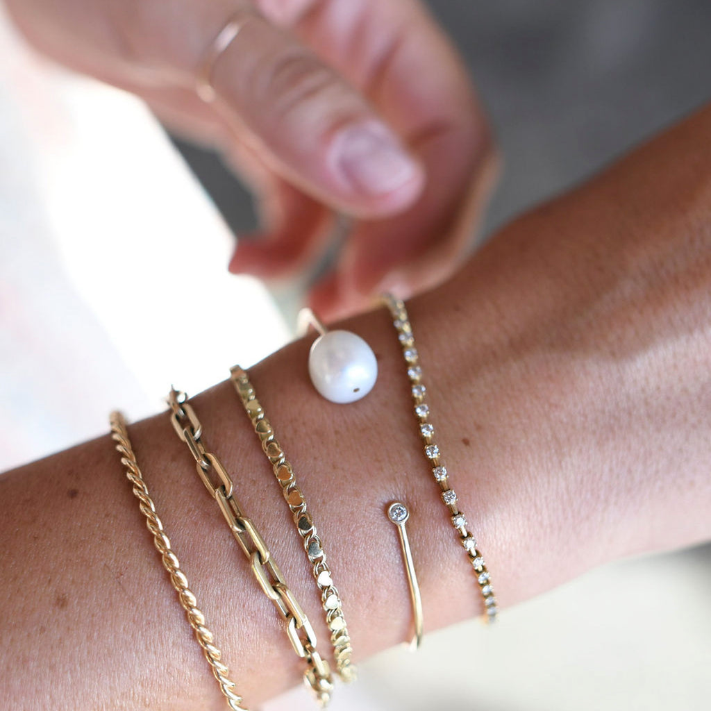 You choose Baroque Pearls cuff 24k gold plated bracelet adjustable open bangle double white pearls thin uniuque Turkish jewellery BLZ92