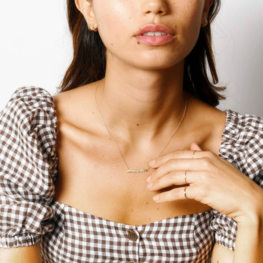 Twisted Petite Hoops -- Ariel Gordon Jewelry