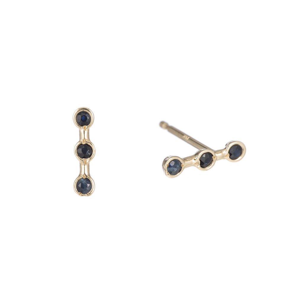 Mini Horizon Studs -- Ariel Gordon Jewelry