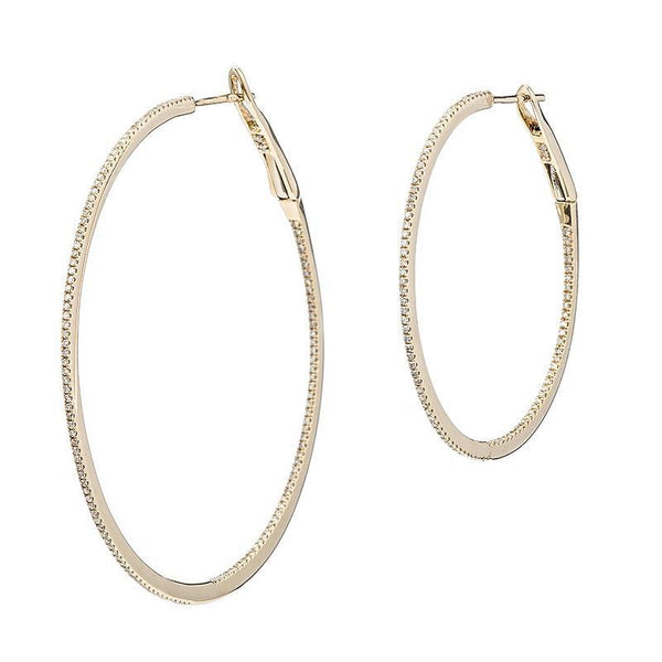 XL Eternity Hoops