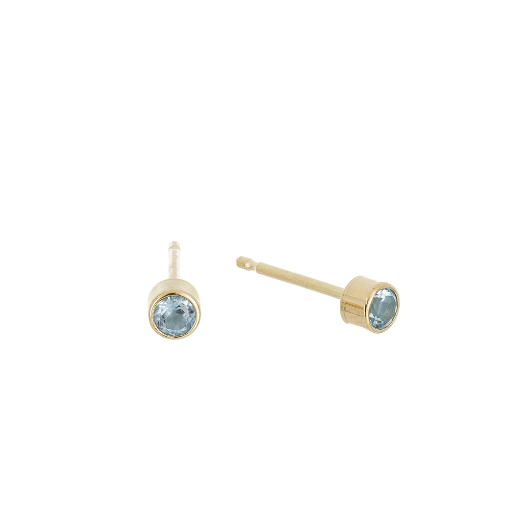 Birthstone Dust Studs -- Ariel Gordon Jewelry